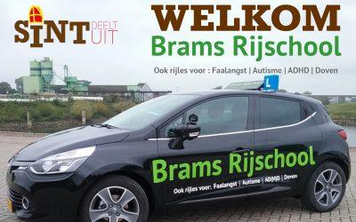 Brams Rijschool sponsort Sint Deelt Uit