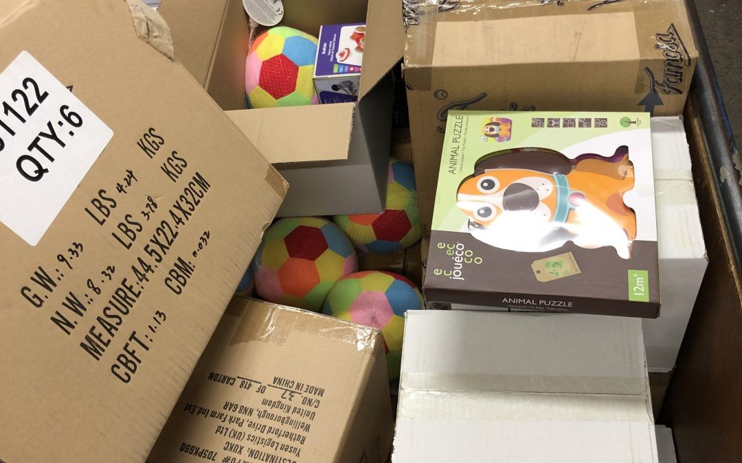 Speelgoed ingekocht voor Cadeau Pakketten