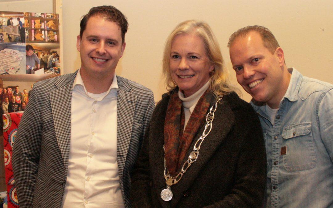 Sint Deelt Uit voor Voedselbank Zutphen groot succes