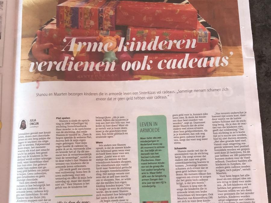 Sint Deelt Uit is landelijk nieuws